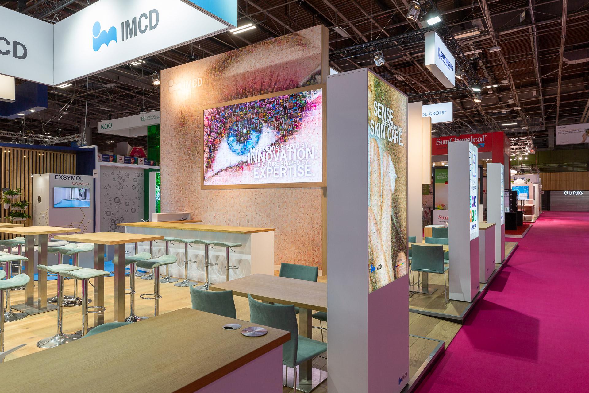 Branding beursconcept IMCD