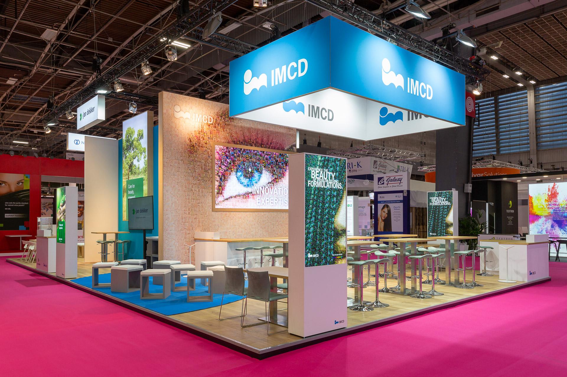 Branding beurs concept IMCD